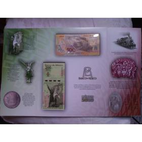 Billetes 2010 Bi-centenario Independencia Y Revolución Nuevo