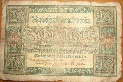 billetes alemania billetes