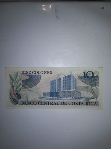 billetes antiguos costa rica de diez colones