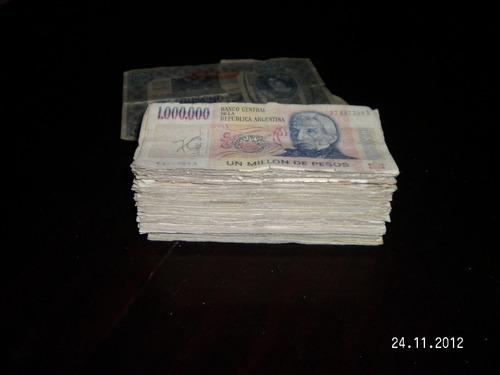 billetes antiguos de argentina