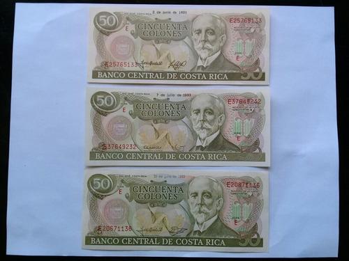 billetes antiguos de costa rica, rema