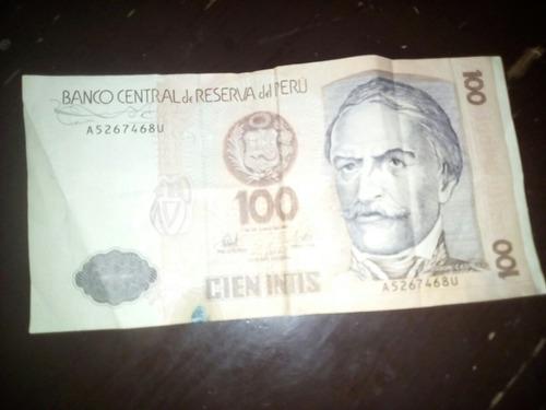 billetes antiguos peruanos