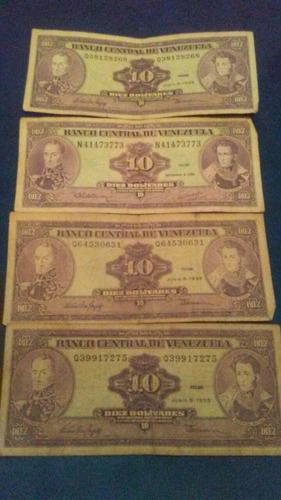 billetes antiguos venezolanos