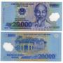 Vietnam - Billete 20.000 Dong - Polímero Nuevo!!!