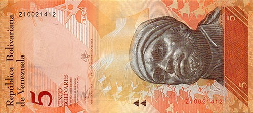 billetes bolivares fuertes de 2 bs y 10 bs - 100% nuevos unc