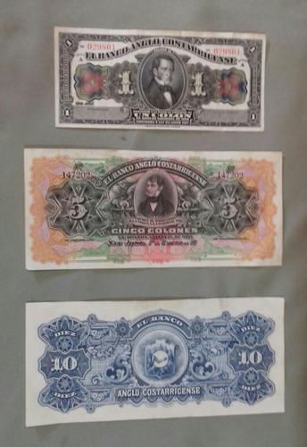 billetes  coleccion de costa rica  ( no circularon )