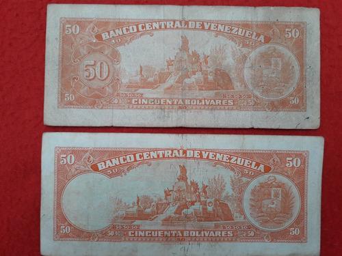 billetes colección venezolano