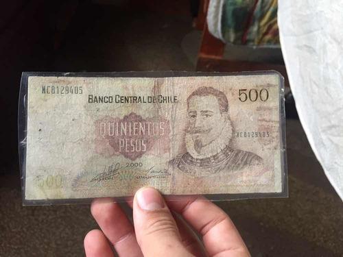 billetes de 1000 y 500 pesos