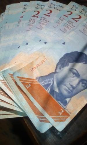 billetes de 2