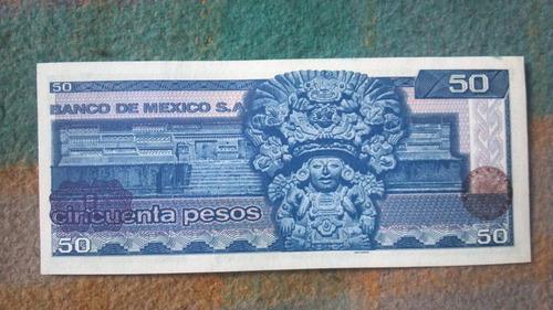billetes de $50 nuevos , sin circular