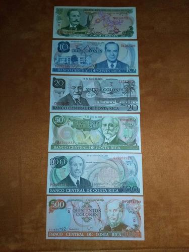 billetes de colección (nuevos)