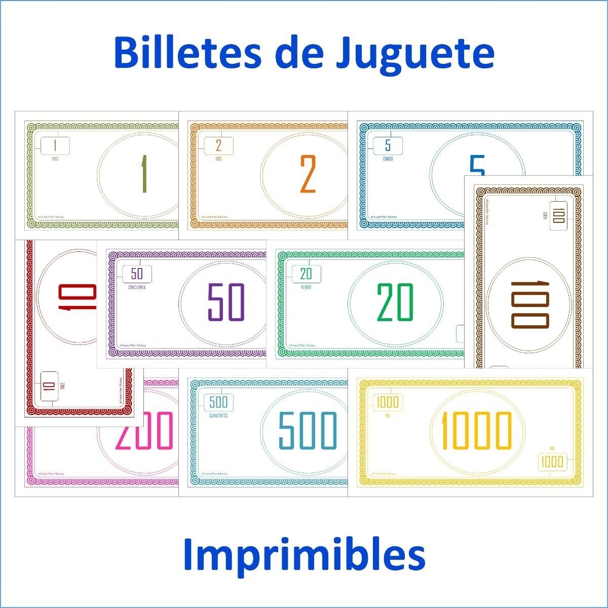 De Para Imprimir Billetes Juguete Pdf 7Yb6gyvf