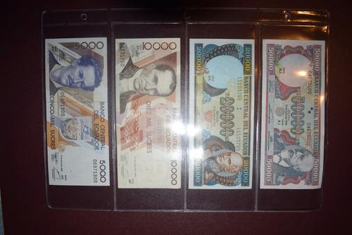 billetes ecuador nuevos