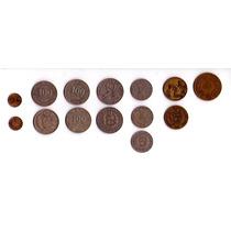 Colección Monedas Antiguas Peruanas Sol Centavo Peru Remato