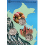Peru 2013 Blister Moneda 3 Monedas Recursos Naturales Cacao
