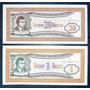 2 Acciones Billetes 1 - 20 Rublos Banco Mmm Rusia Mavrodi