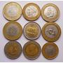Lote 15 Monedas Bimetlicas Paises Raros Lejanos Moneda Rara