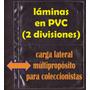Láminas En Pvc De Dos Divisiones (5 Unidades)