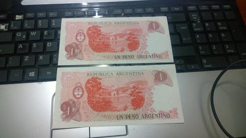 billetes peso argentino