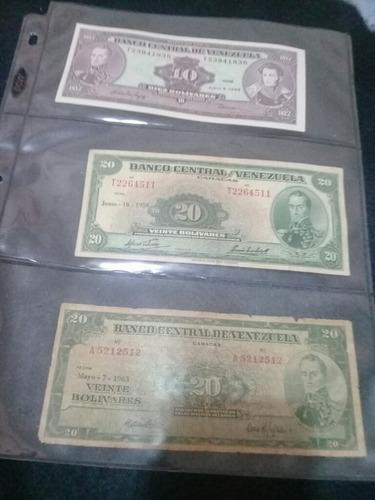 billetes venezolanos colección