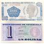 Hermosa Pareja De Tinoquitos Unc 1y2 Bolivares De 1989 Xvf