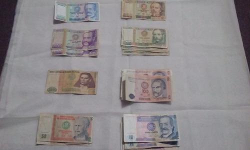 billetes y monedas antiguas del peru