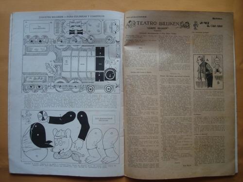 billiken n° 47 año 1920, con publicidad  aguila saint