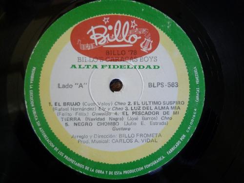 billo's caracas boys - billo 78 - lp acetato vinil