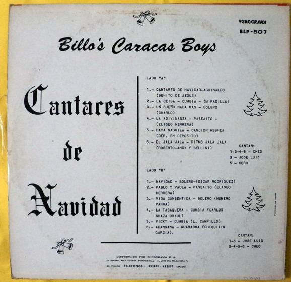 billos cantares de navidad