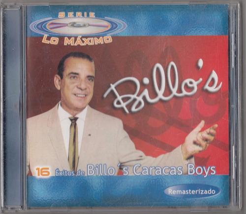 billos caracas boys. serie lo maximo. cd original usado