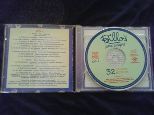billo´s para siempre: 32 grandes exitos. cd. doble. guaracha