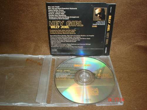 billy joel - cd single - hey girl bim