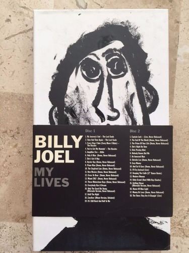 billy joel  my lives (box set)