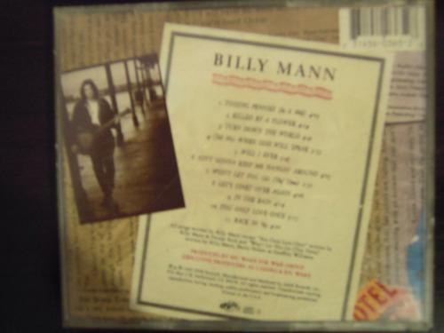 billy man cd homonimo inportado pop