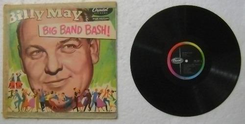 billy may / big band bash  1 disco lp vinilo