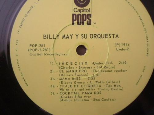 billy may / pow! vinyl lp acetato