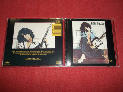 billy squier - don´t say no cd usa ed 1990 mdisk