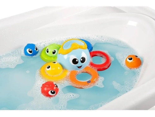 billy the octopus juguete baño pulpo peces chicco