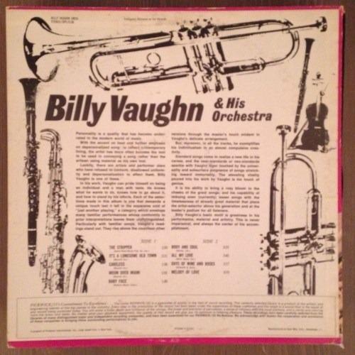 billy vaughn - lp body & soul (imp) stereo * smusic