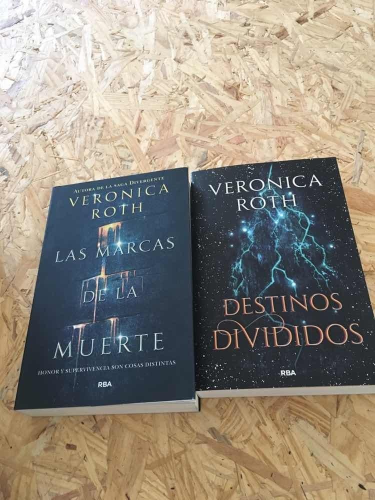 Bilogía Las Marcas De La Muerte De Verónica Roth 1 300 00 En Mercado Libre