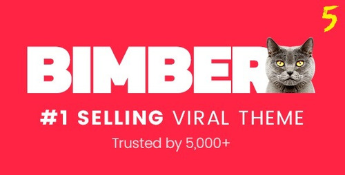 bimber  viral & buzz wordpress theme atualização vitalicia