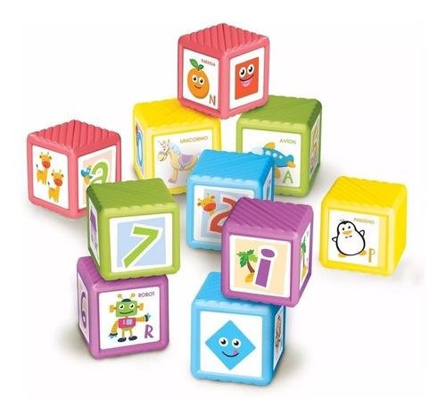 bimbi cubos didácticos x 10 bloques envio full (2482)