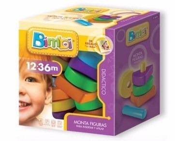bimbi monta figuras de 12 a 36 meses 12 piezas