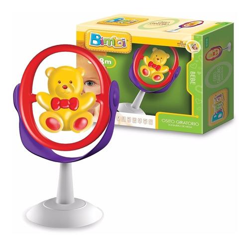 bimbi osito giratorio sonajero de mesa bebe