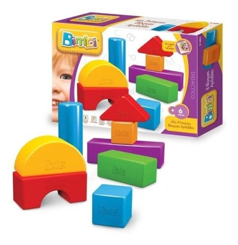 bimbi primera infancia apilable  8 piezas