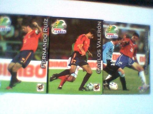 bimbo cards 2002, españa