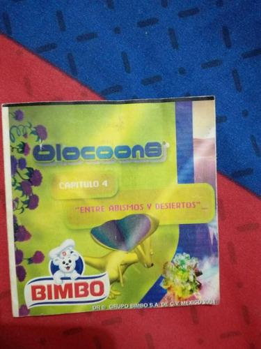 bimbo olocoons comics temporada 1+8cartas olocoons 02 - 2004
