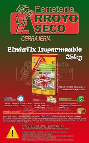 bindafix impermeable sika 25 kg