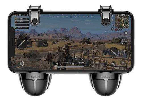 binden gatillos botones l1 r1 en forma de granada soporte para cel, ideal para juegos shooter, superficie antiderrapante