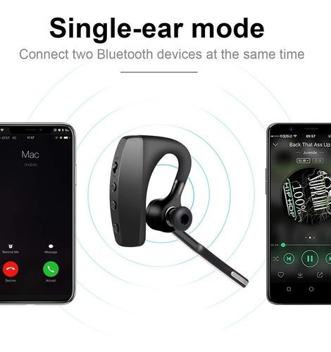 binden manos libres bluetooth k10c con doble micrófono sin ruido, compatible ios y android - incluye estuche de acrílico